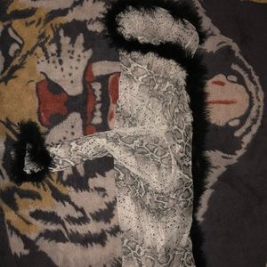 Fur robe from Windsor (hand wash with cold water)